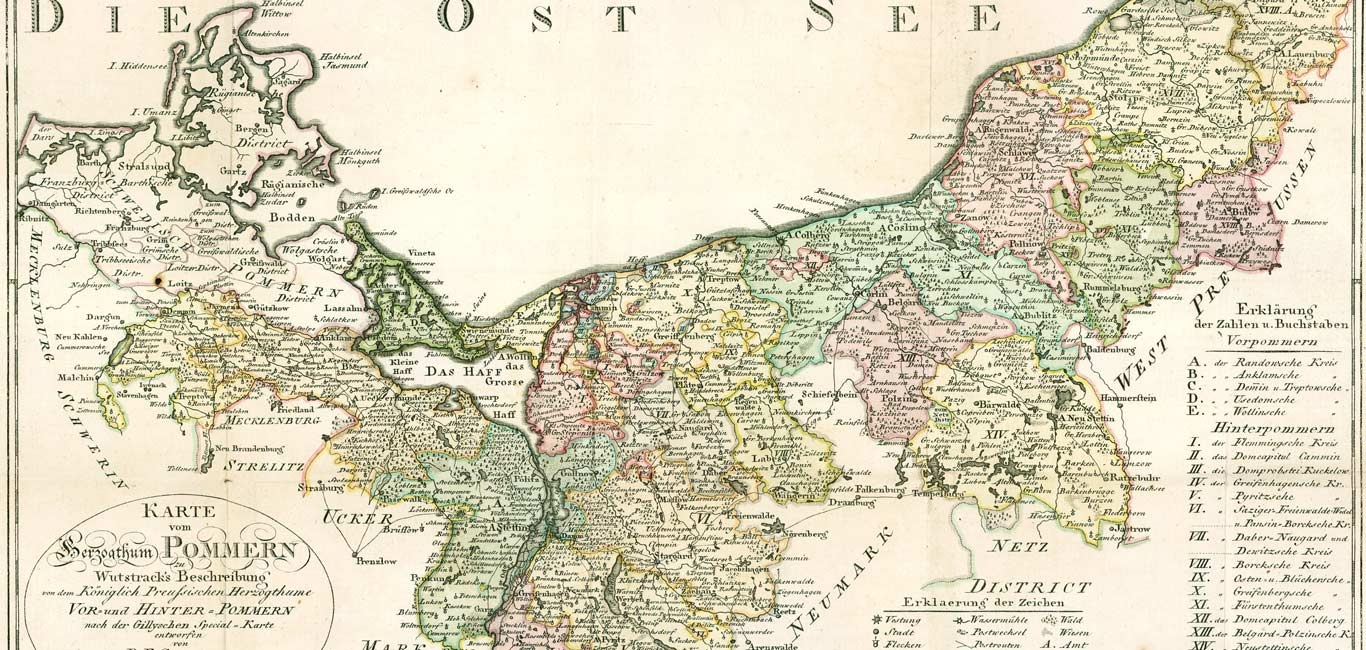 My Pomerania German And Polish Genealogy Pomerania Pommern